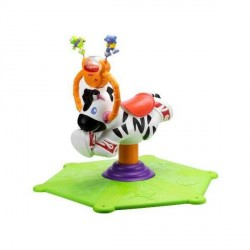 "Балансир-прыгунки от Fisher Price ""Веселая зебра"""