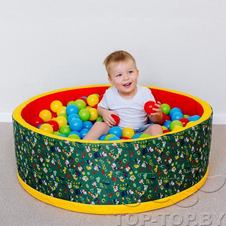 Надувной бассейн с шариками